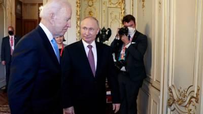 В Белом доме не считают, что встреча Байдена и Путина была полезна только России