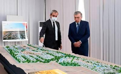 В Узбекистане заложен первый камень города Новый Андижан