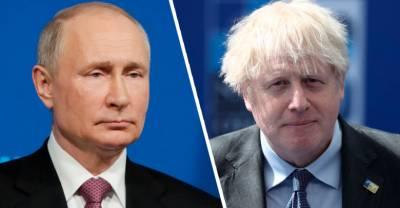 В Великобритании поставили условие для встречи Путина и Джонсона