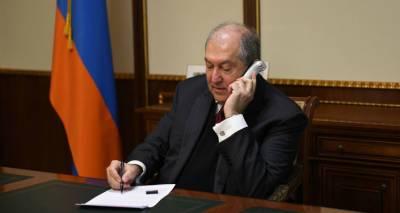 Армен Саркисян поговорил с главой СНБ и начальником полиции