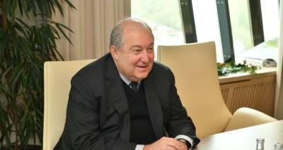 Президент Армении Армен Саркисян поздравил избранного президента Ирана Ибрагима Раиси