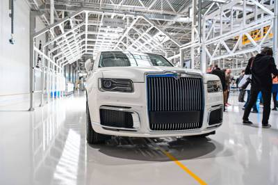В Татарстане открыто производство автомобилей российской марки представительского класса