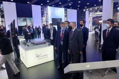 Беглов и Соколов посетили стенд Санкт-Петербурга на ПМЭФ