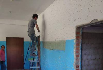 Продолжается строительство нового учебного корпуса в Сосновском центре образования