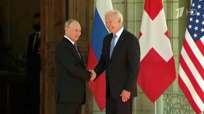 Главным мировым событием стала встреча президентов Владимира Путина и Джо Байдена