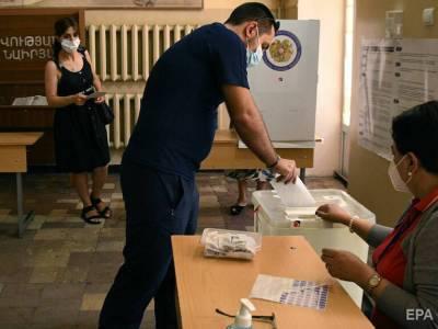 На парламентских выборах в Армении лидирует политсила Пашиняна