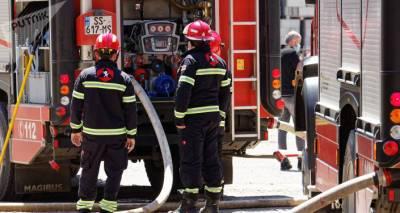Пожар на юге Грузии: сгорело здание со статусом культурного наследия