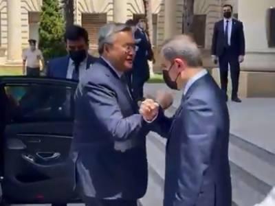 Глава МИД Азербайджана встретился с вице-премьером Казахстана (ВИДЕО)