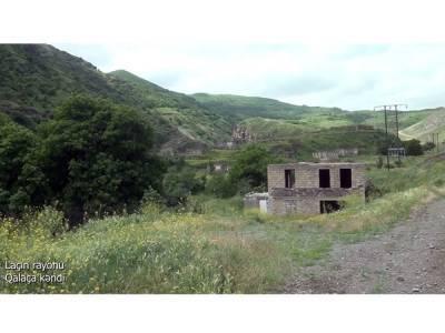 Освобожденное от оккупации село Галача Лачинского района (ВИДЕО)