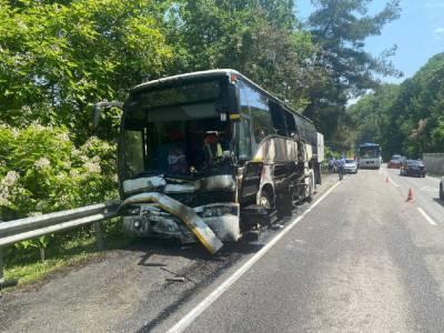 Под Туапсе в результате столкновения автобусов пострадали дети – Учительская газета