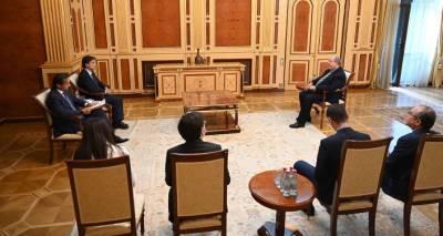 Президент Армении принял наблюдателей БДИПЧ ОБСЕ