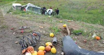 В аварии на трассе Чамбарак – Шоржа пострадали семь человек, погиб ребенок
