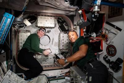 Ученые выясняют причину головной боли у американских астронавтов на МКС