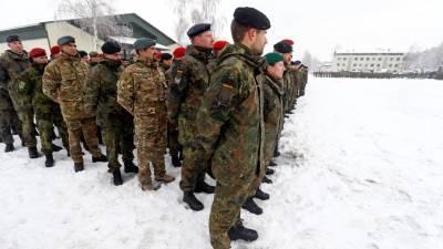 Германия отозвала из Литвы взвод военных из-за подозрений в серьезных проступках