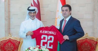 Федерация футбола Таджикистана и Ассоциация футбола Катара подписали меморандум о сотрудничестве
