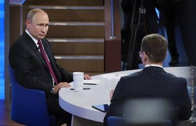 """""""Прямая линия"""" с Путиным в этом году будет """"высокотехнологичной"""""""