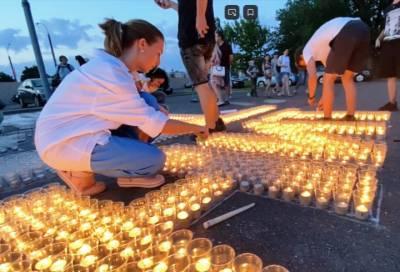 В ночь с 21 на 22 июня тысячи людей зажгли свечи в память о каждом, кого потеряли в годы войны