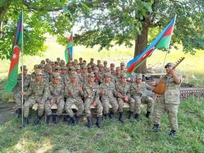 В канун Дня Вооруженных сил Азербайджана состоялась встреча с новобранцами (ФОТО)