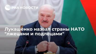 Лукашенко призвал НАТО не убаюкивать Минск историями об оборонительных учениях и миролюбии