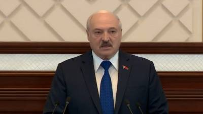 Лукашенко потребовал от Германии стоять на коленях перед Белоруссией