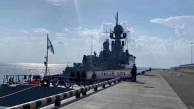 Путин поприветствовал участников X Международного военно-морского салона