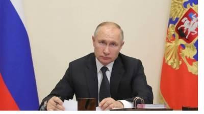 Путин поприветствовал всех участников X Международного военно-морского салона