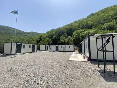 На освобожденных территориях Азербайджана введена в эксплуатацию новая воинская часть модульного типа (ФОТО/ВИДЕО)