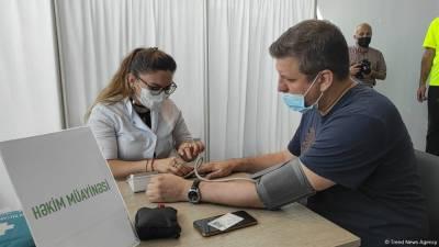 В Баку вакцинируют от коронавируса в мобильных пунктах (ФОТО/ВИДЕО)