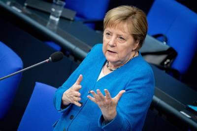 Меркель призвала Евросоюз к прямому диалогу с Путиным