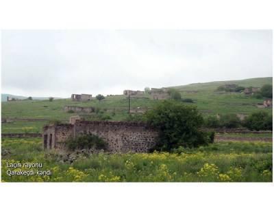 Освобожденное от оккупации село Гаракечди Лачинского района (ВИДЕО)