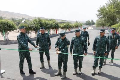 В Губадлы открылась новая воинская часть ГПС Азербайджана (ФОТО)