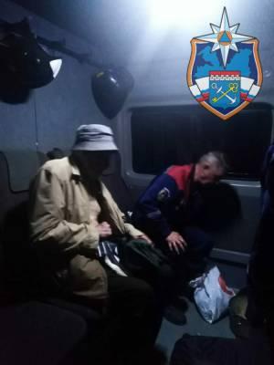 Спасатели нашли и вывели из леса в Тосненском районе заблудившегося мужчину