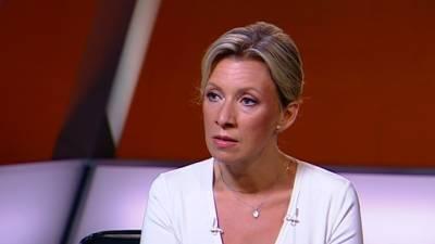 Вранье в лицо: Захарова прокомментировала реакцию Лондона на ЧП с эсминцем