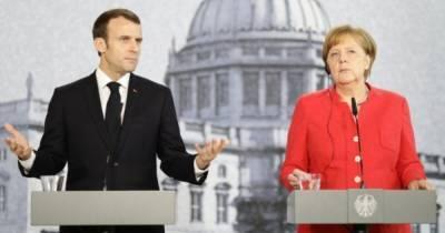 Макрон объяснил, почему поддержал инициативу Меркель в отношении Путина
