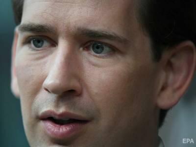 """Канцлер Австрии """"очень рад"""" предложению о восстановлении саммитов ЕС с Путиным"""