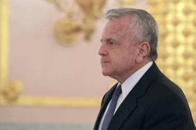 Сергей Рябков заявил о планах встретиться с вернувшимся в Москву послом США