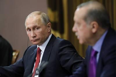 Путин обсудил с Эрдоганом Карабах, саммит в Женеве и поставки вакцины