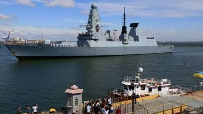 Захарова заявила о политическом компоненте в инциденте с эсминцем