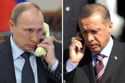 Эрдоган и Путин обсудили ситуацию в Карабахе