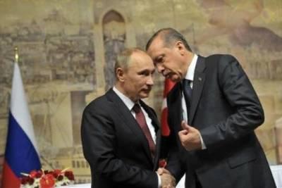 Путин и Эрдоган обсудили возобновление авиасообщения и поставки «Спутника V»