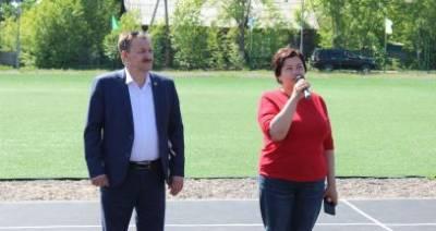 В поселке Юбилейном и селе Алымовка Киренского района открыли спортивные многофункциональные площадки