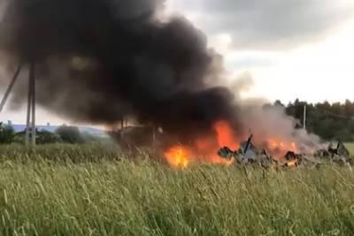После падения вертолета Росгвардии в Ленинградской области возбудили дело