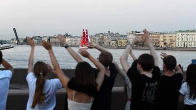В Санкт-Петербурге прошла генеральная репетиция «Алых парусов»