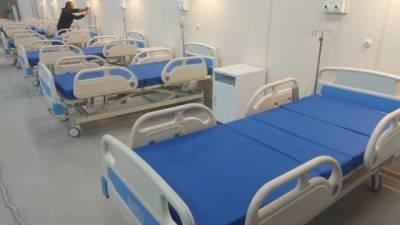 В Петербурге готовятся развернуть 10 тыс. дополнительных коек для больных с коронавирусом