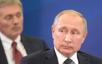 Кремль о санкциях от Украины: Мешают проведению встречи Путина и Зеленского