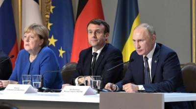Макрон и Меркель теряют авторитет: отказ ЕС от саммита с Путиным объяснили