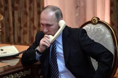 Путин обсудил с эмиром Катара подготовку к ЧМ по футболу в 2022 году