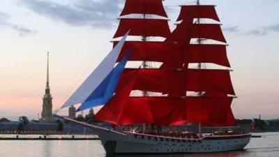 «Алые паруса»: в центре Петербурга развернулось феерическое шоу