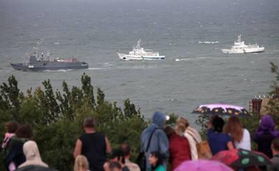 The Daily Mail (Великобритания): Россия предупреждает Британию и Америку, что будет защищать границы «любыми средствами», включая военные. Она обвиняет их в попытке разжечь конфликт