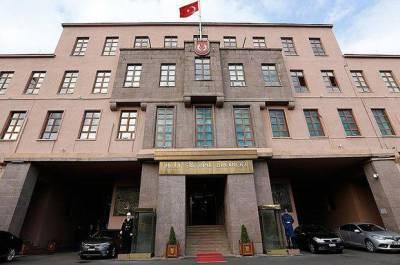 Министерство нацобороны Турции поздравило ВС Азербайджана с 26 июня - Днем Вооруженных сил